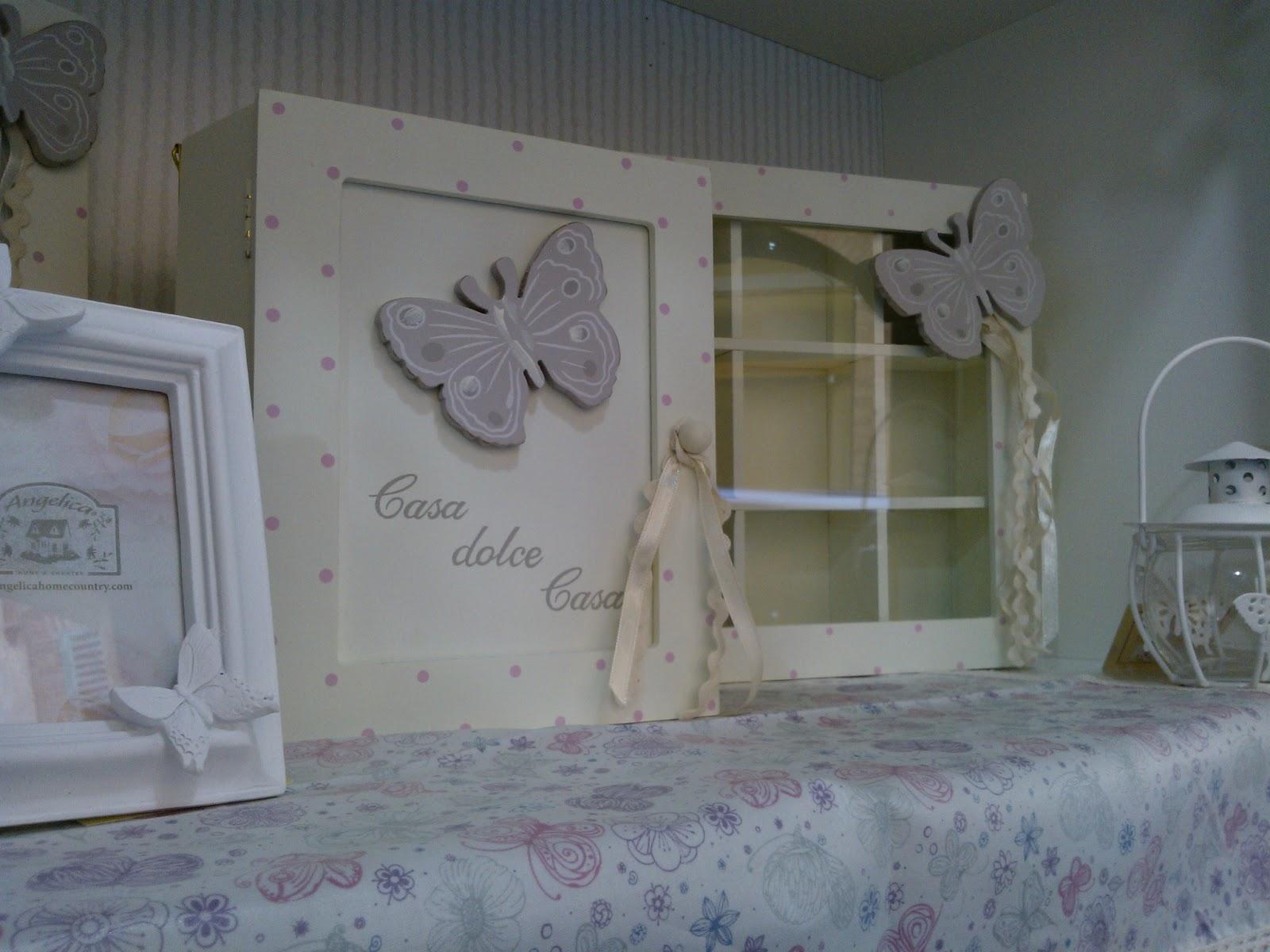 Passatopresente voglia di primavera con l 39 angelica for Angelica home e country tende
