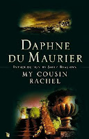 My Cousin Rachel by Daphne du Maurier - book cover UK