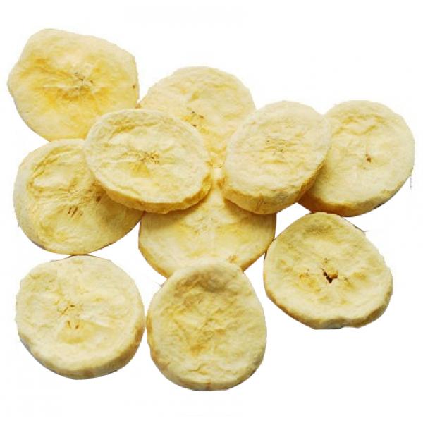 banana liofilizada