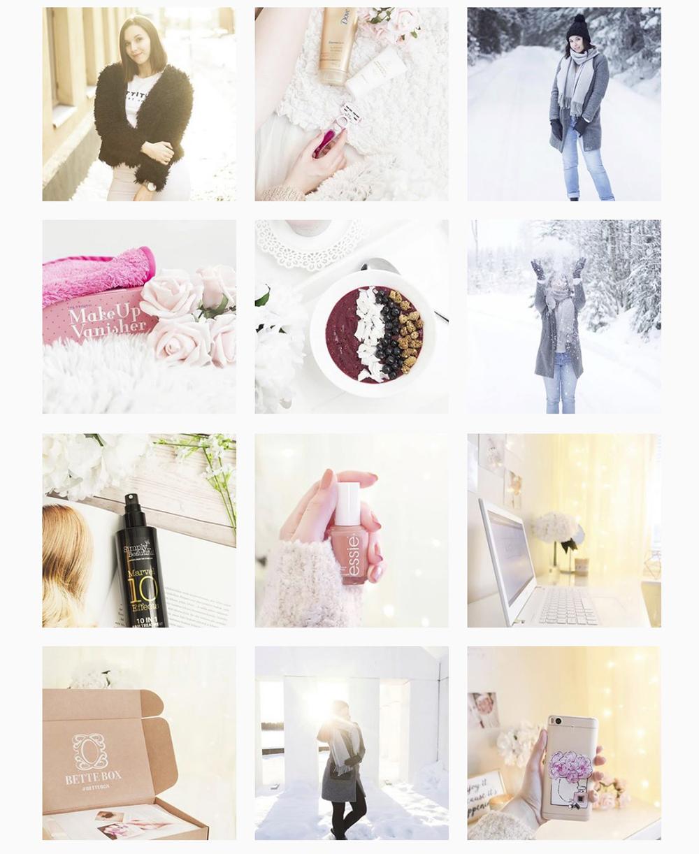 Tammikuun Instagram Feed
