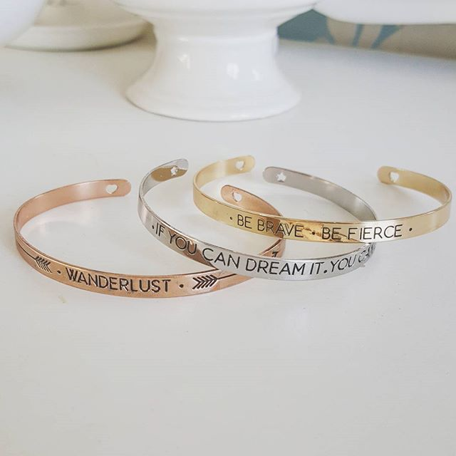 message engraved bangles