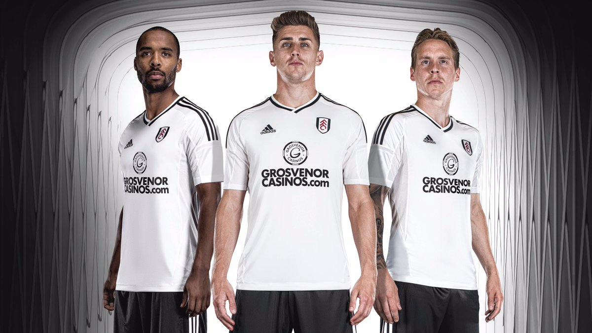 Image result for Team: Fulham FC jersey