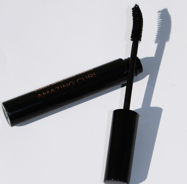 Makeup Revolution, review mascara Amazing Curl