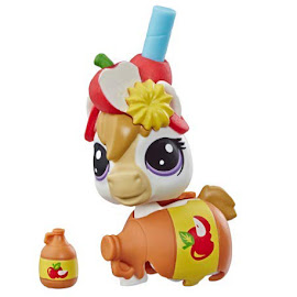 LPS Series 4 Thirsty Pets Horse (#4-170) Pet