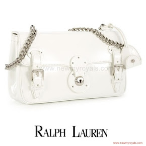 Crown Princess Victoria wore RALPH LAUREN Ricky Chain Bag
