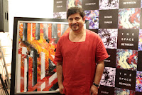 Bharat Thakur's Foray in Art Commences in Bangalore, The Space Between, Time and Space Art Gallery, Art News Bangalore, Artistic Yoga, Abstracts, Art Scene India