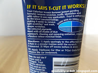 Carplan T-Cut Color Fast Scratch Remover Woskująca pasta lekkościerna NANO instrukcja