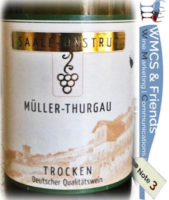 Müller-Thurgau Saale-Unstrut 2014