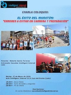 Charla para preparar la Maraton