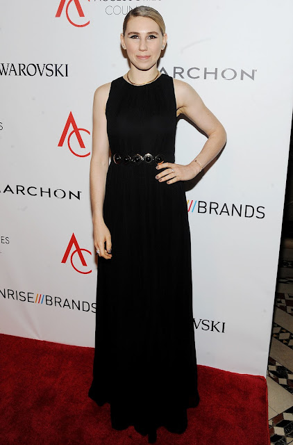 Actress, @ Zosia Mamet - ACE Awards at Cipriani 42nd Street in New York