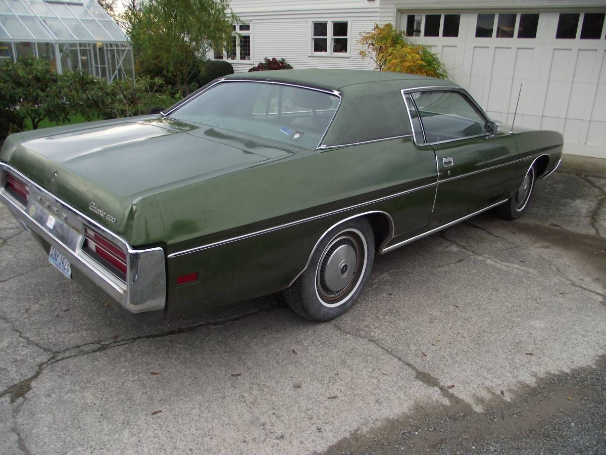 Daily Turismo: Green Monster: 1972 Ford Galaxie 500