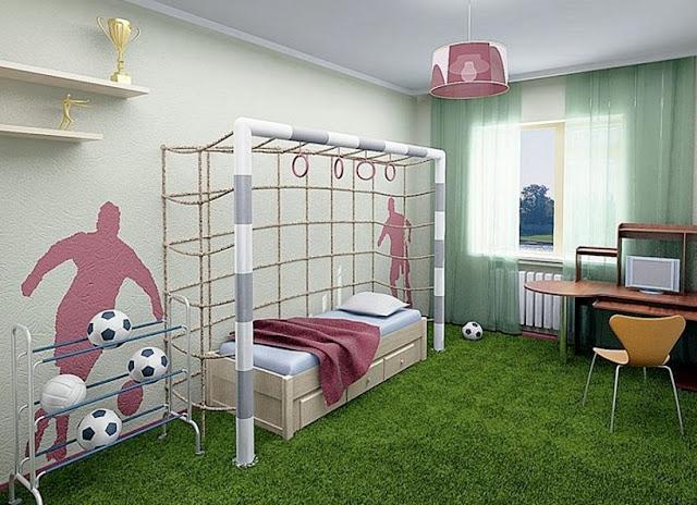phòng ngủ bé trai - mẫu 14