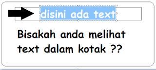 Hidden Text ( Text Tersembunyi )
