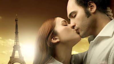 hot lip lock kiss