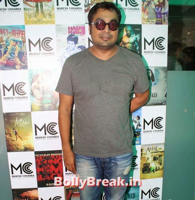 Anurag Kashyap, Shradha  & Aditi at Mukesh Chhabra Casting Studio Launch