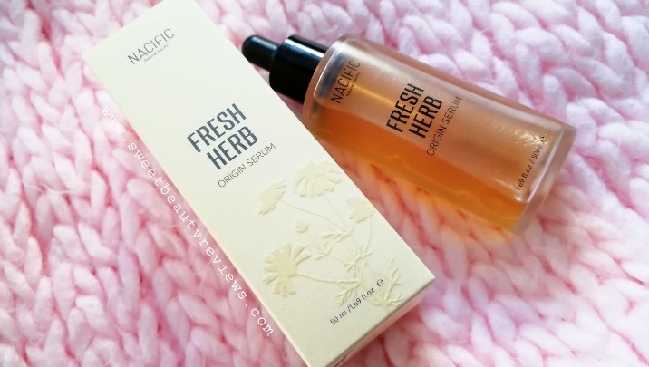 NACIFIC Fresh Herb Origin Serum review