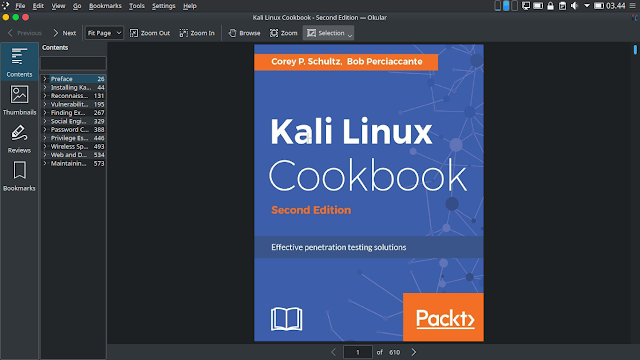 Ebook Kali linux CookBoox Second Edition