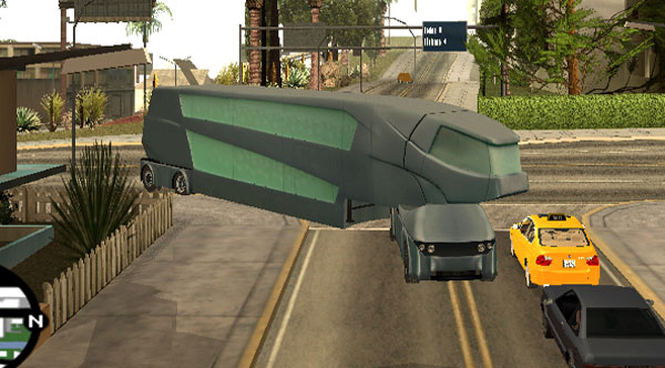 Bus unik
