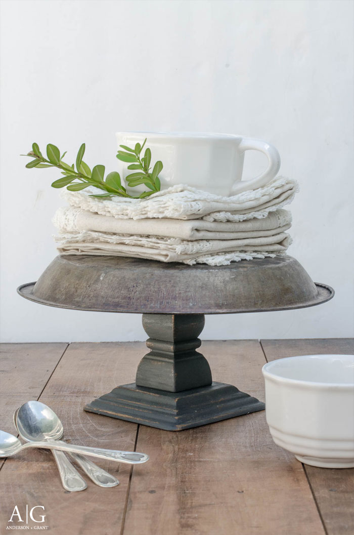 As a bit of a shopaholic Iu0027m constantly picking cheap things up at stores that can be useful. But since there is no real plan of what to do with them ... & Rustic DIY Cake Stand | anderson + grant
