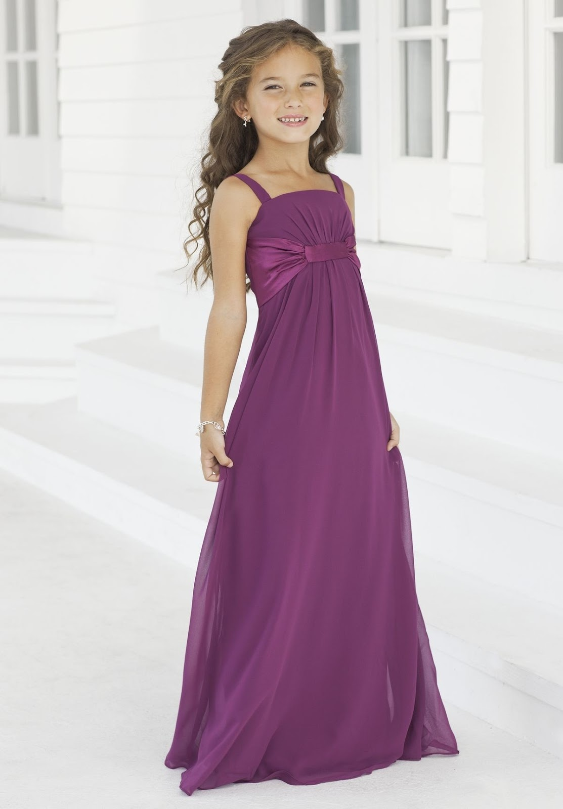 WhiteAzalea Junior Dresses: Purple Junior Bridesmaid