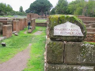 Guia de Turismo à antiga cidade de porto de Ostia Antiga