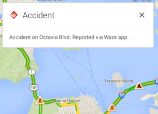 Google Maps for Mobile Adds Waze Incident Reports