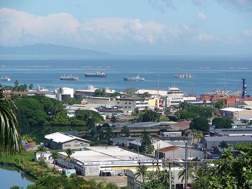 Suva, Capital de Fiji