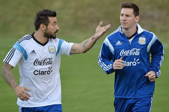 #MenStyle El Pocho Lavezzi y la belleza masculina  Messi @blocdemoda