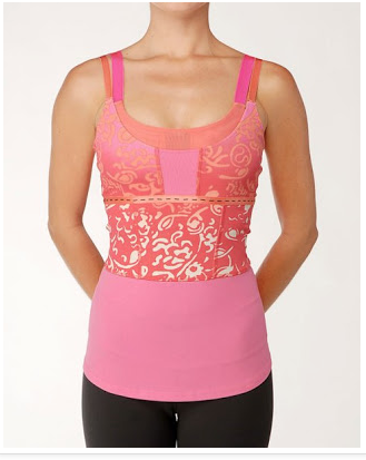 lululemon move-tank paradise-chipper-print