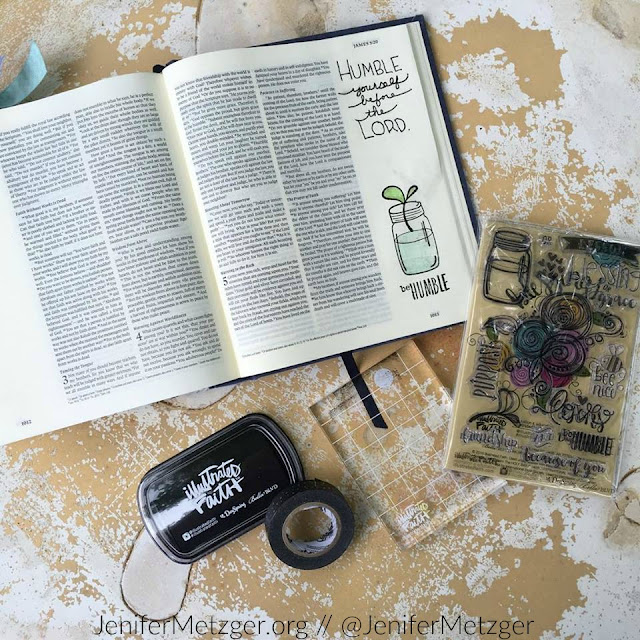 "The new Illustrated Faith kit ""Blessings or Lessons"" is available! #illustratedfaith #Biblejournaling"