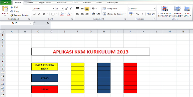 Download Aplikasi KKM Kurikulum 2013