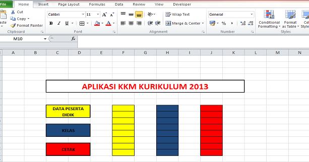 Download Aplikasi KKM Kurikulum 2013 SD, SMP dan SMA ...