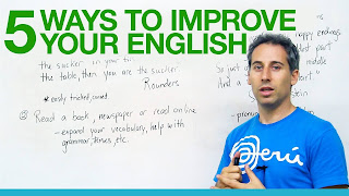 The Top Five Ways to Improve English Skills