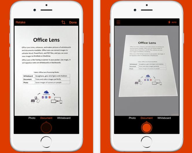 微軟筆記拍照軟體Office Lens降臨iPhone,可直接整合Word與PPT