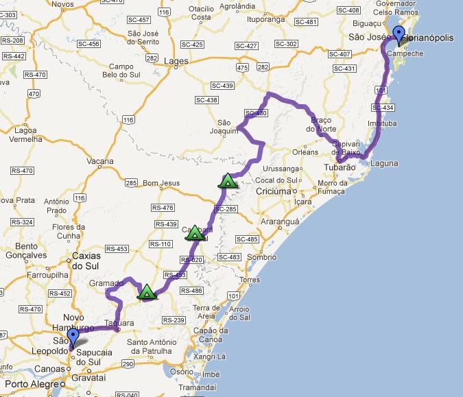 janeiro de cima mapa Viagem de Moto aos Campos de Cima da Serra | Viaje na Imagem janeiro de cima mapa