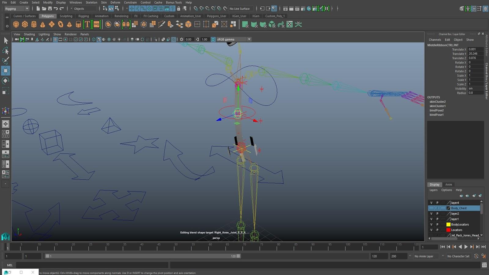 Lewis Punton Animation: Maya Tutorial | Rigging (Part 2) IK