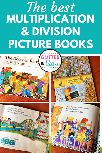 Teaching multiplication and division with math picture books