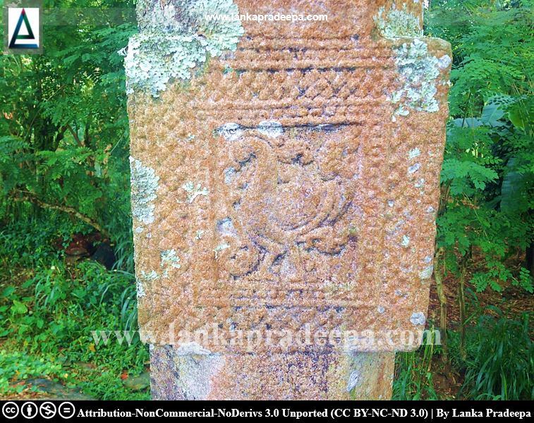 Stone carvings of Embekke Ambalama, Kandy