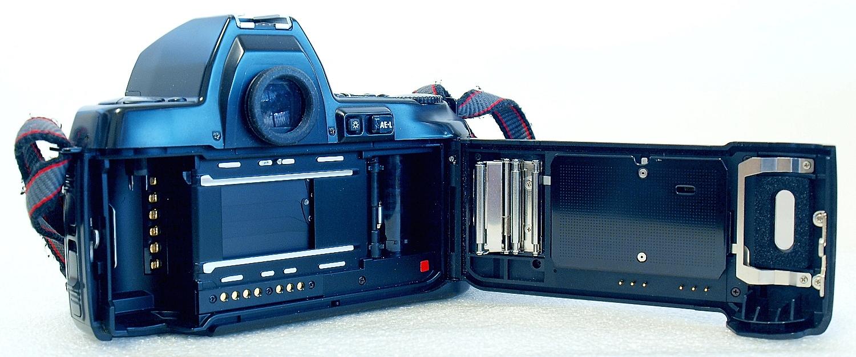 Nikon F801s with MF-21 Back #895-4