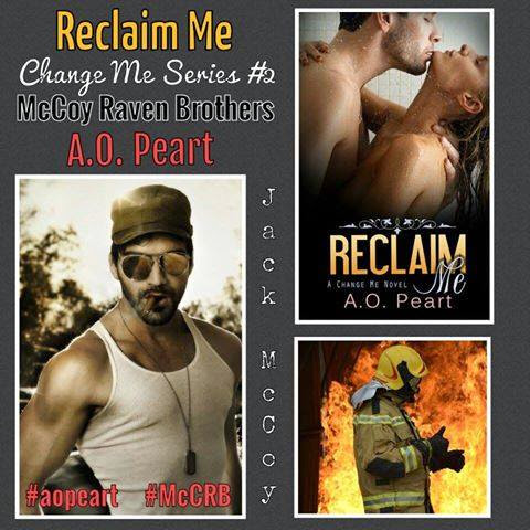 Reclaim Me by A.O. Peart - Release Day Scavenger Hunt!