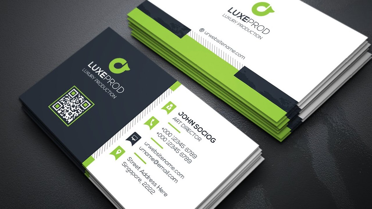 Modern business cards business card tips for Contemporary business card design