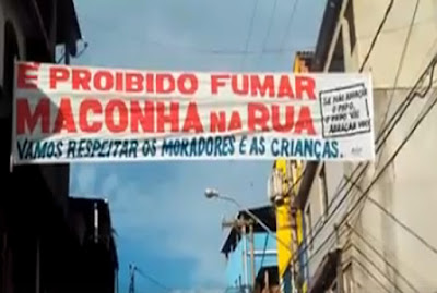 Traficantes de Macaé proíbem uso de maconha na rua