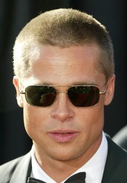 Latest Hollywood Hottest Wallpapers Brad Pitt Short Hair