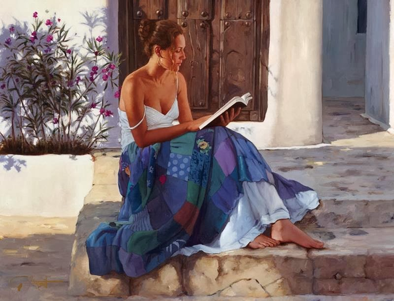 Gabriel Picart - Woman Reading