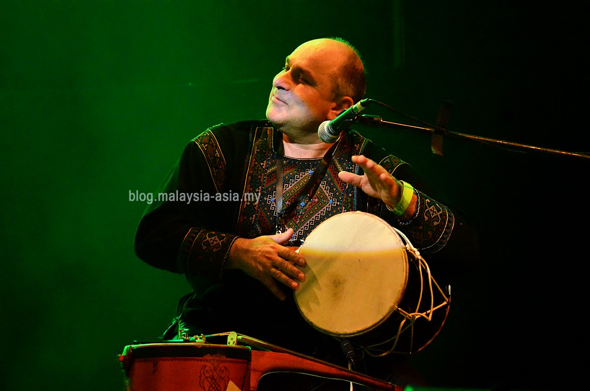 Iriao at the Borneo Jazz Music Festival
