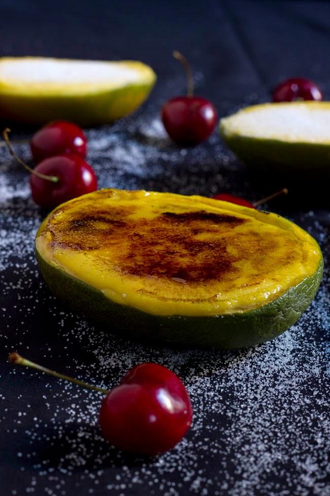 Crema catalana de mango