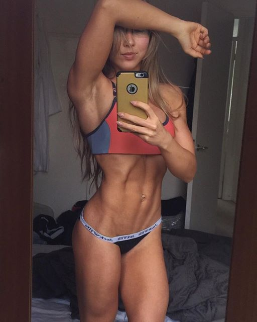 Fitness Model GINA HUNT  Instagram photos