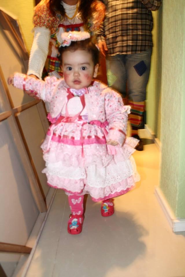 Brechó Da Ravenna Vestido Festa Junina Bebe Um Ano