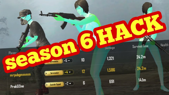 Pubg mobile season6 hack