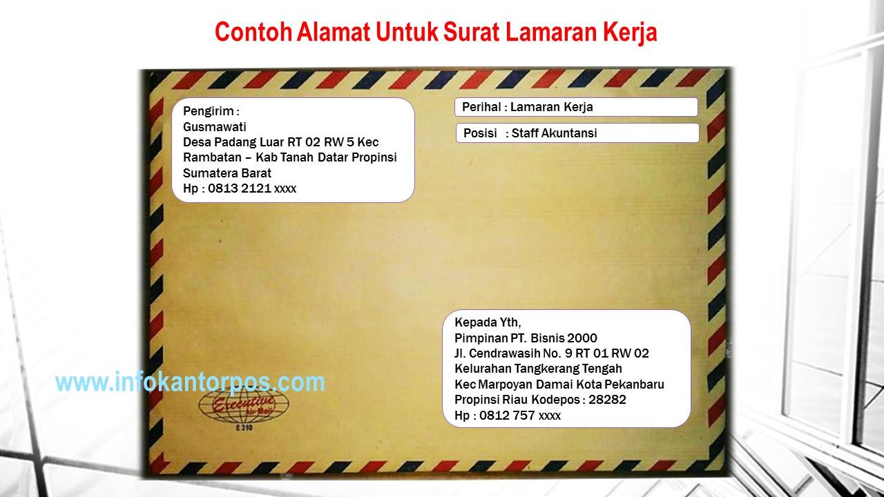 Cara Mengirim Surat Atau Dokumen Yang Benar Di Kantorpos Dan Agenpos Www Infokantorpos Com
